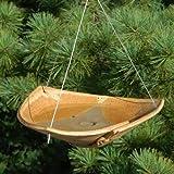 Anthony Stoneware Ceramic Bird Bath, Small, Butternut For Sale