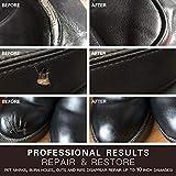 Black Leather and Vinyl Repair Kit - Restorer of