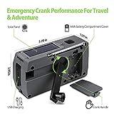 Emergency Weather Radio, Hand Crank Solar Portable