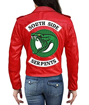 Riverdale Cheryl Blossom Southside Serpents Jacket in Red ...