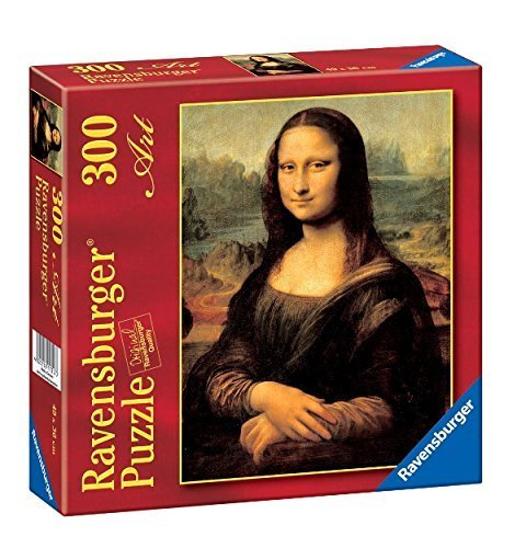 Ravensburger - Jigsaw Puzzle - 300 Pieces - Leonardo da Vinci : Mona Lisa by Ravensburger