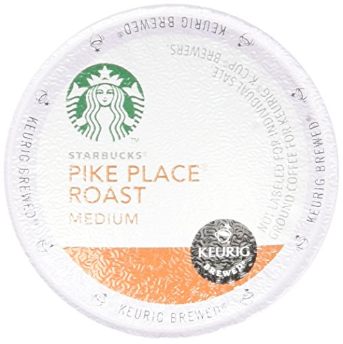 Starbucks Pike Place Roast Medium Keurig K-cups,54 Count.