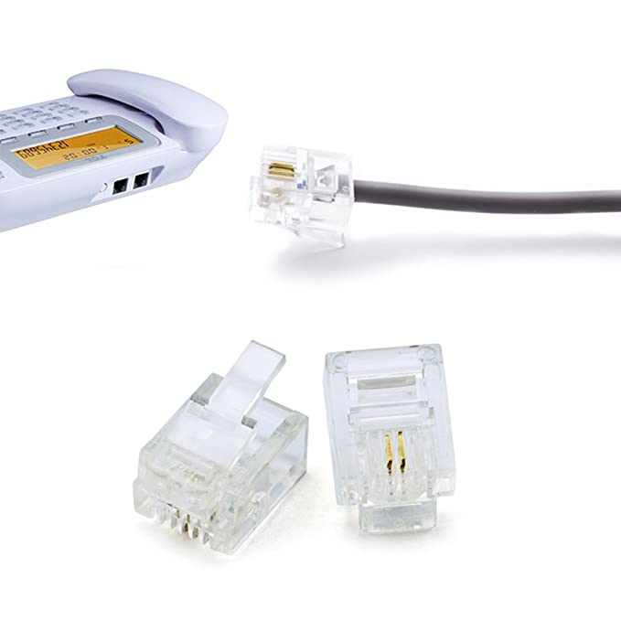 Amazon.com: 70pcs Phone Wire Butt Splice Connector Crimp Terminals ...
