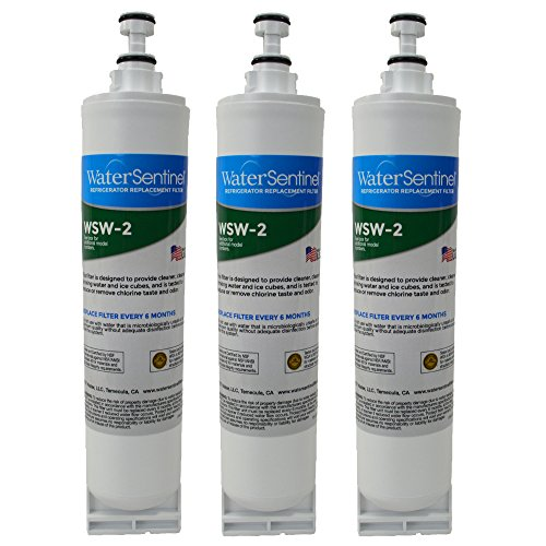 Price comparison product image WaterSentinel WSW-2Refrigerator Replacement Filter: Fits Whirlpool Filter 5 (3 Pack)