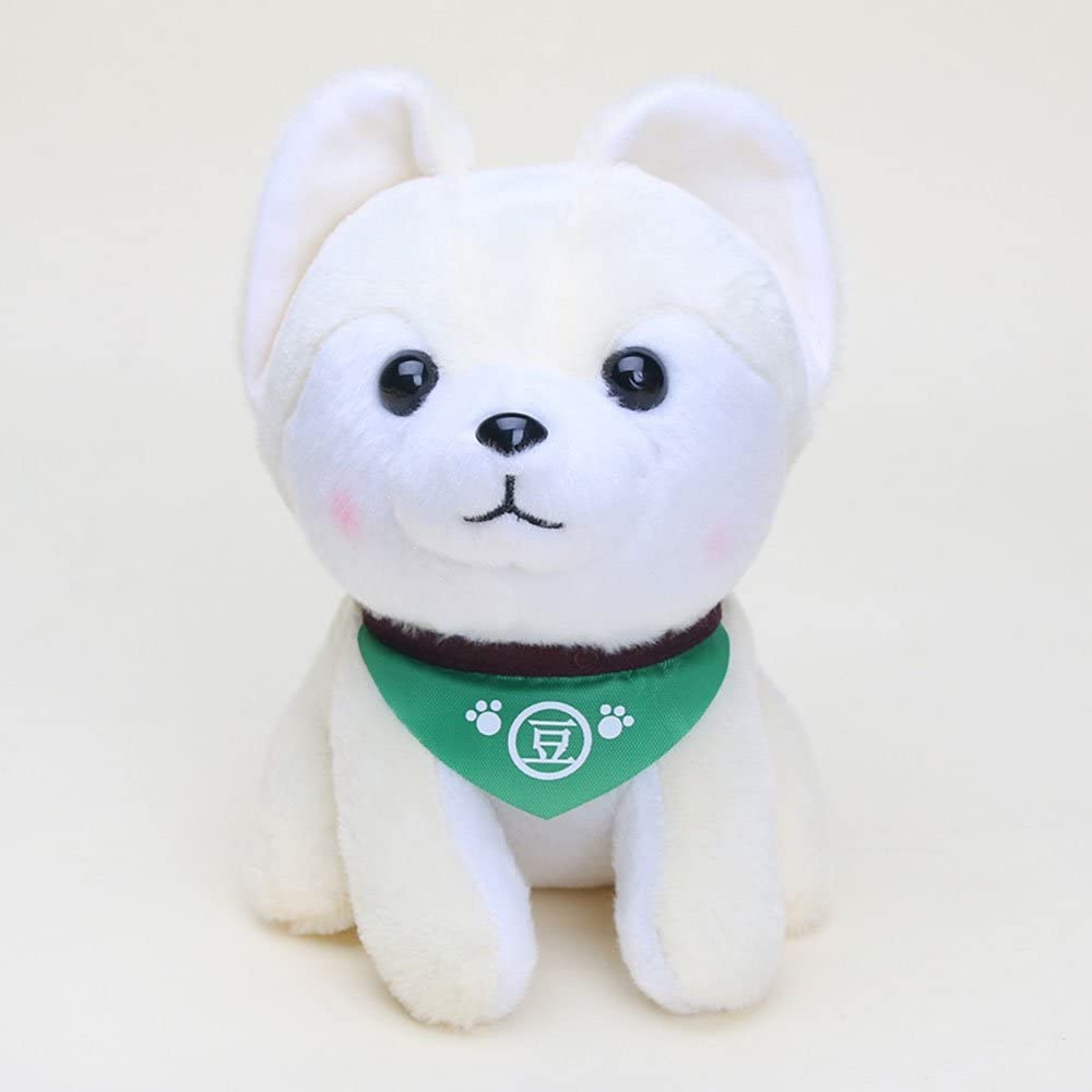 "MonkeyEAT Shiba Inu Doge Brown Green 7/"" Plush Toy"