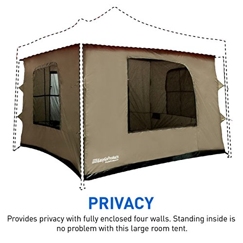 C&ing Tent ...  sc 1 st  Best C& Kitchen & Camping Tent attaches to any 10u0027x10u2032 Easy Up Pop Up Canopy Tent with ...