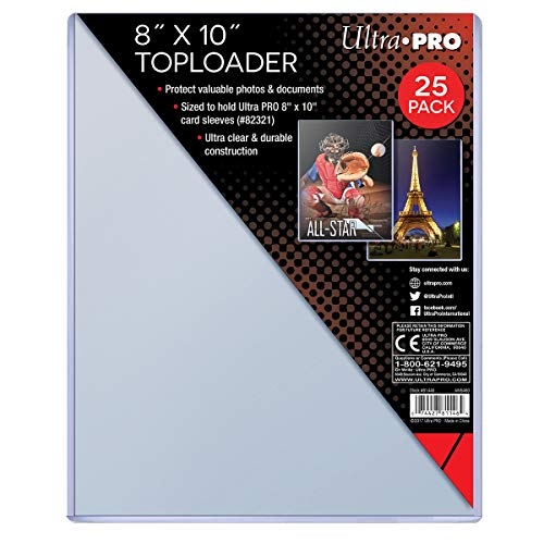 (Ultra Pro Clear Toploader 8-Inches x 11-Inches (25-Count) )