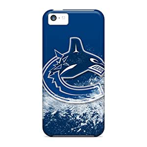Iphone 5c Uth19854kYBD Provide Private Custom Nice Vancouver Canucks Pattern Protector Hard Phone Cases -AnnaDubois