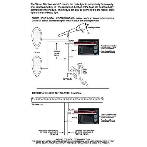 United Pacific 90655 Brake Attention Module