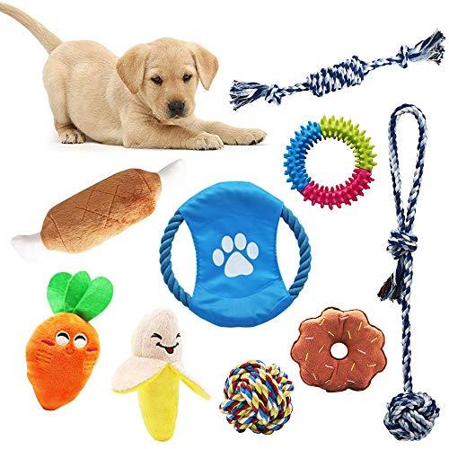 🥇 AWIIK – Juguetes para Perros Cachorros