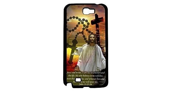 Amazon.com: Bible Verse John Chapter 11 Verse 25-26 Hard ...