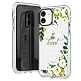 frepstudio iPhone 11 Case,Cute Bible Verses Quotes Flowers Florals White Roses Daisy Christian Proverbs 3:5 Inspirational Girls Women Soft Protective Clear Case with Design Compatible for iPhone 11