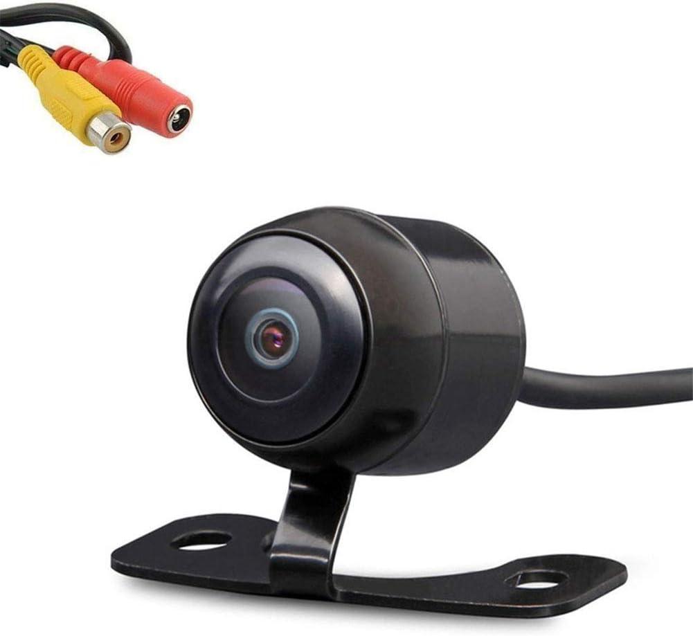 LEXXSON cámara Frontal de Coche/cámara de Marcha atrás cámara de Seguridad de 170° CMOS Mini cámara de visión Trasera de Coche IP68 Impermeable visión Nocturna DC12V (Delantera o Trasera)