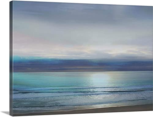 Beach Seascape 1 Canvas Wall Art Print