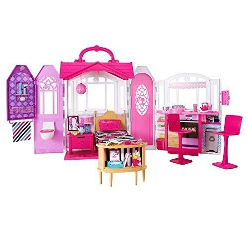 Barbie Glam gectawayhouse capdase by Mattel