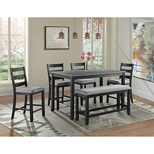 Picket House Furnishings Kona Counter Height 6PC Dining Set