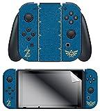 """The Legend of Zelda BOTW """"The Legend of Zelda"""" Nintendo Switch Joy-Con Skin + Joy-Con Grip Skin + Screen Protector Set Review"""