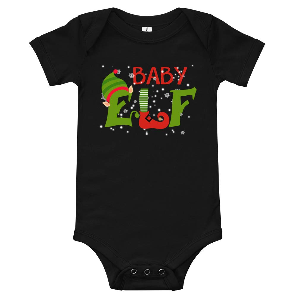 payatek Baby Elf Baby Bodysuits Baby Shirt Christmas Elf Cute for Baby