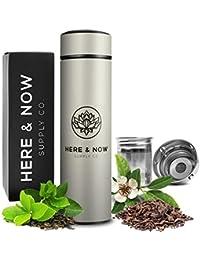 Multi-Purpose Travel Mug and Tumbler | Tea Infuser Water...