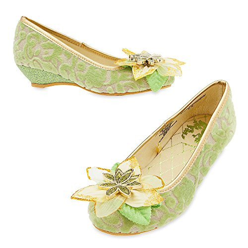 Disney Tiana Costume Shoes for Kids Size 11/12 YOUTH 428434205370