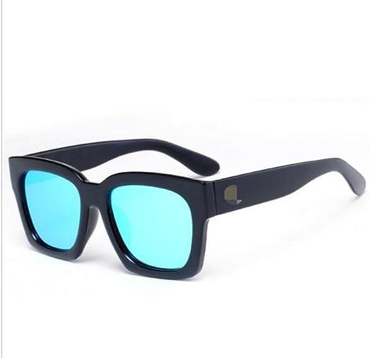 Box Gafas De Sol Retro Trend Gafas De Sol Color Film Gafas De Alta ...