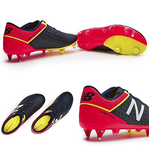 visaro MID SG Football Boots negro