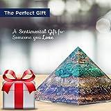 Orgonite Crystal Love Attraction Orgone Pyramid