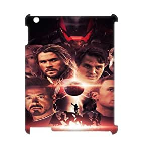 The Avengers SANDY0007971 3D Art Print Design Phone Back Case Customized Hard Shell Protection Ipad2,3,4