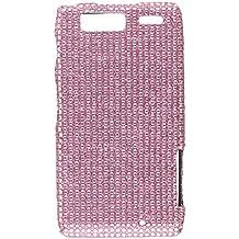 Aimo Wireless MOTXT913PCDI004 Bling Brilliance Premium Grade Diamond Case for Droid Razr MAXX - Retail Packaging - Pink