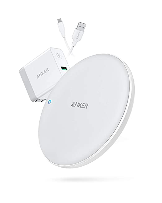 Amazon Com Anker Powerwave 7 5 Fast Wireless Charging Pad With
