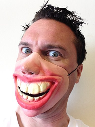 Big Teeth Grin Latex Mask