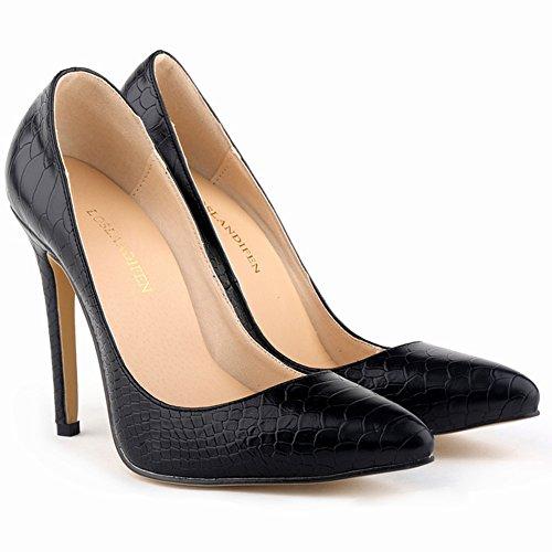 Women's No Town Dress 66 High Pumps Black Heel Stiletto xxrETwf