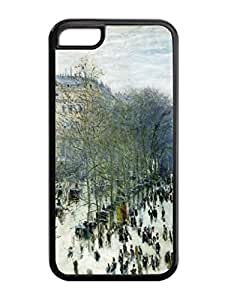 Custom-ized Design Claude Monet 1 Artist Iphone 5c Rubber TPU Cases