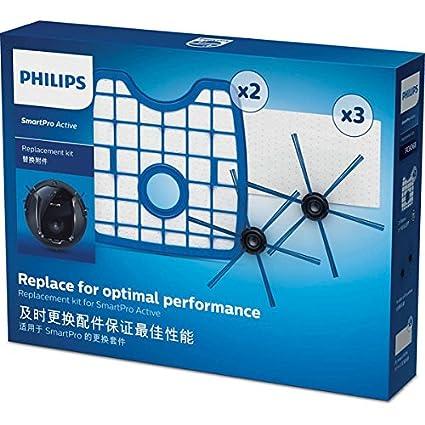 Philips SmartPro Active Robot aspirador FC8068/01 - Accesorio para aspiradora (Robot vacuum, Kit de inicio, Azul, Blanco, Philips SmartPro Active FC8810 ...