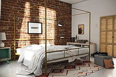 Novogratz Marion Canopy Bed Frame