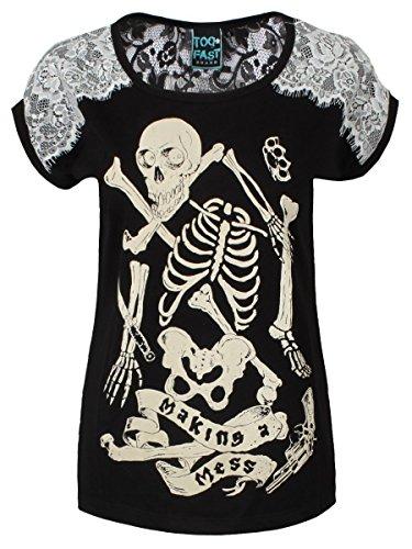 Too Fast - Camiseta - Estampado - para mujer
