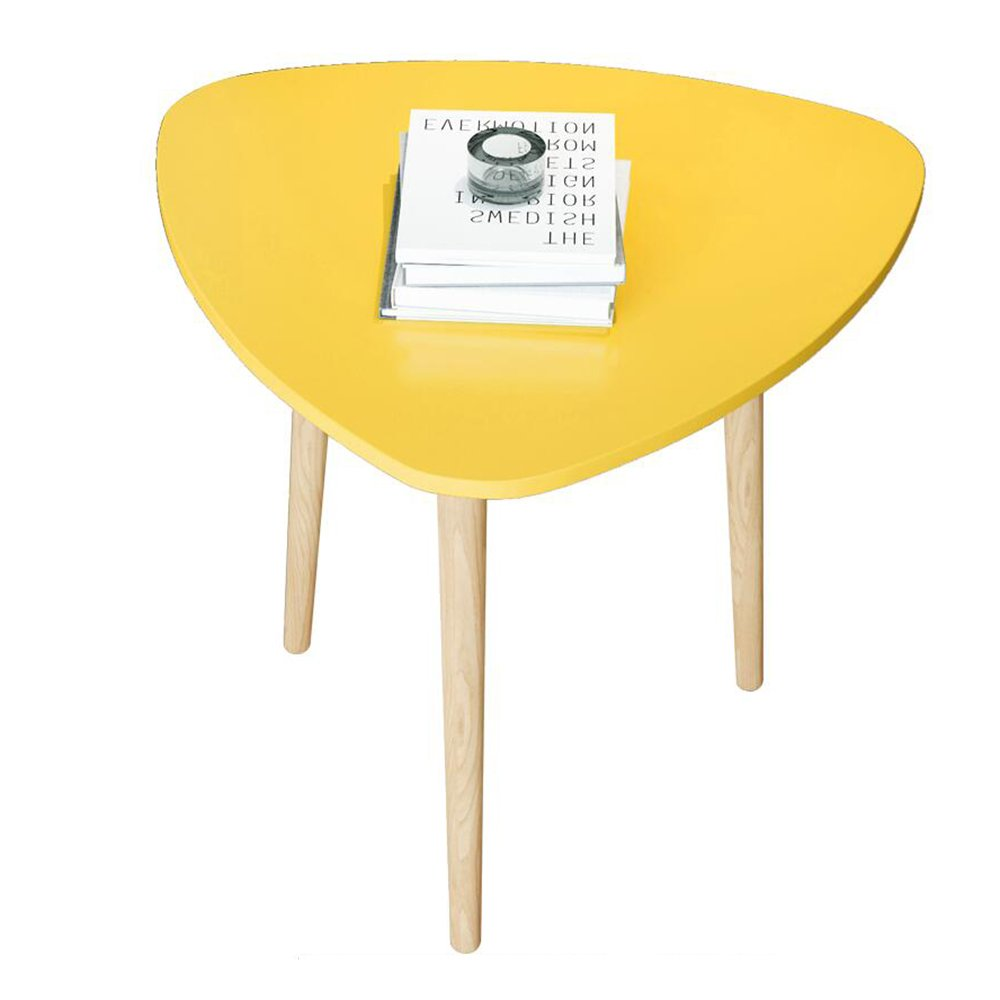 MS Tables Nordic Small Coffee Table Simple Mini Table Balcony Round Coffee Table Sofa Side Table Corner Table Simple Round Table Simple and Practical Optional Color, Size @