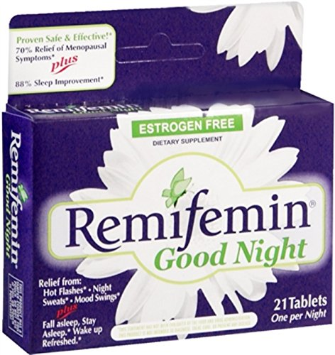 Remifemin Good Night Tablets 21 Tablets (Pack of 11) by Remifemin