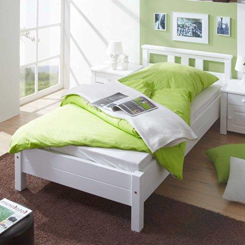 Pharao24 Bett Martinique In Weiß Ausführung 3 Amazonde Küche