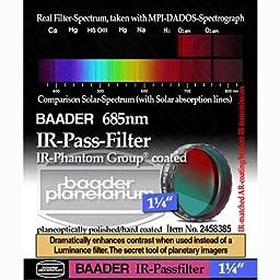 Baader Planetarium IR Pass Telescope Filter 1.25\