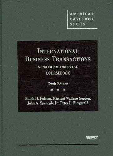 International Business Transactions: A Problem-oriented...