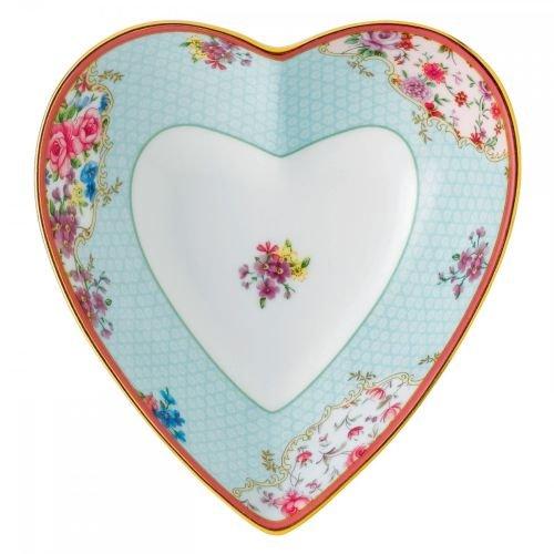 Royal Albert Candy Heart Tray, 5.1'', Sitting Pretty by Royal Albert