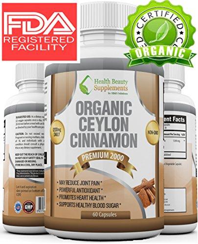 ORGANIC CINNAMON Premium Non GMO Formula