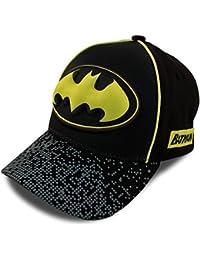 Boys Baseball Cap with 3D POP: Batman, Superman and Justice League (Ages 2-7)