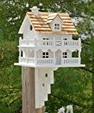 Novelty Cottage Birdhouse With Bracket 1 pc. For Sale