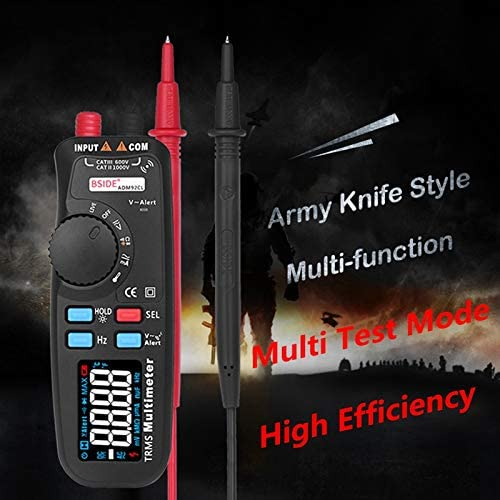 YingYing BSIDE ADM92CL Car Digital Multimeter Pen DC/AC Ammeter Voltmeter Multitester Thermometer Capacitance ohm Tester