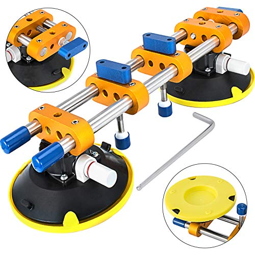 Mophorn Granite Seam Setter 150MM Granite for Joining and Leveling Stone Seam Setter Installation Tools W/6 Inch Suction Cup Handles Seam Setter Countertop Tools for Granite,Slab,Stone by Mophorn (Image #9)
