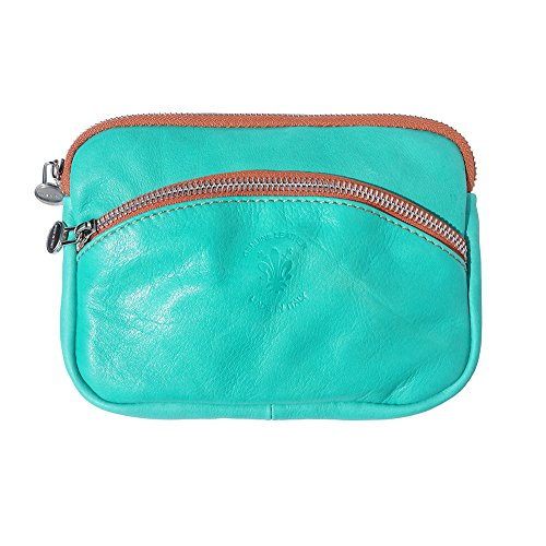tan SMALL PURSE PURSE WITH STRAP SMALL CHAIN Turquoise SILVER B335 zxnRq1dw
