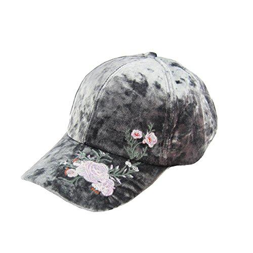 Deer Mum Ladies Denim Jean Campagne Bling USA/Other Characters Pattern Adjustable Baseball Cap (Pink)