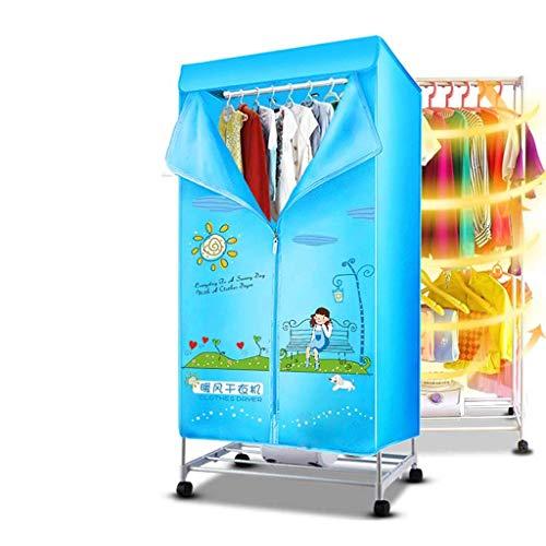 Electric dryer YHz@Mobiler Innen-Trockenschrank, Doppel-Hochleistungs-Trockenschrank, Energiesparend, Leise, Schnell…